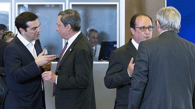 Лидеры стран еврозоны обсуждают ситуацию с Грецией