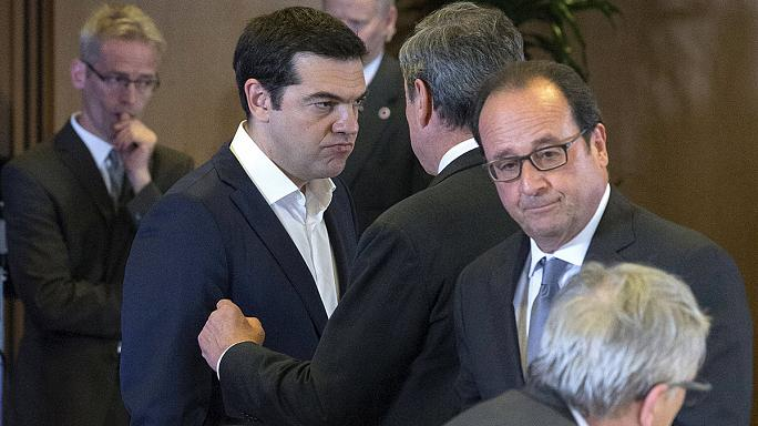 اليونان مجددا في قمة الاهتمامات بالنسبة لقادة دول مجموعة اليورو