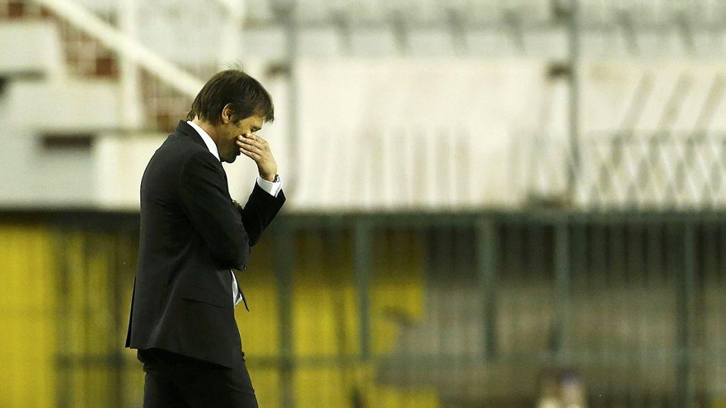 Antonio Conte, acusado de fraude deportivo