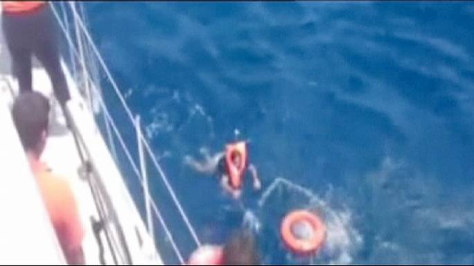 Égei-tenger: elsüllyedt egy menekülteket szállító hajó