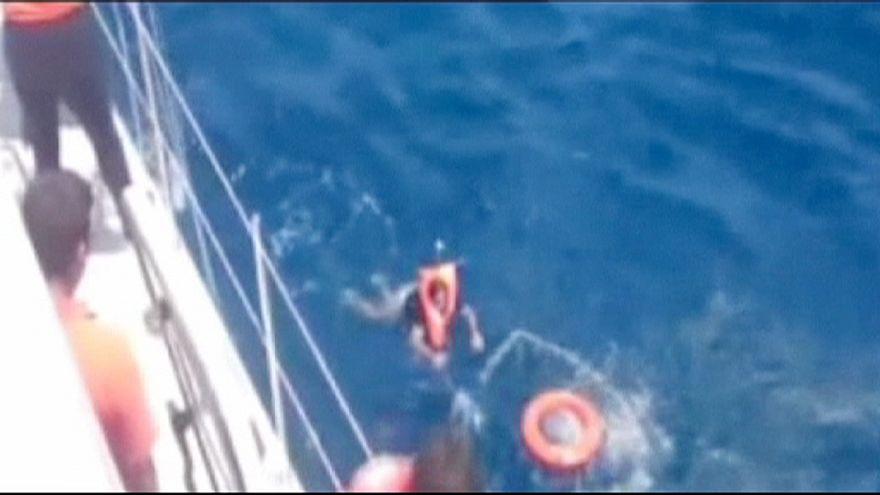 Ελλάδα: Ένας νεκρός και 15 αγνοούμενοι μετανάστες σε ναυάγιο στο Φαρμακονήσι