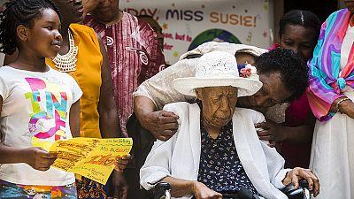 Usa: Susannah, record mondiale di longevità, festeggia 116 anni
