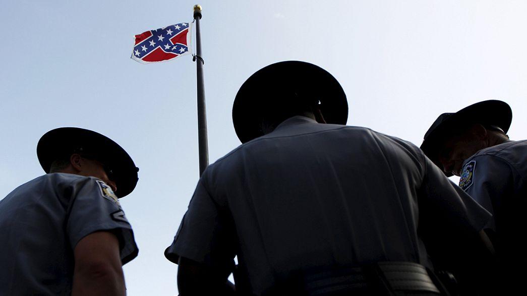 Irkçılığın simgesi bayrak yasaklandı