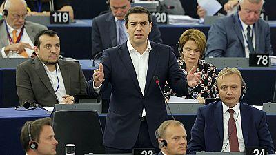 Tsipras verspricht im Europaparlament Reformen und attackiert Deutschland