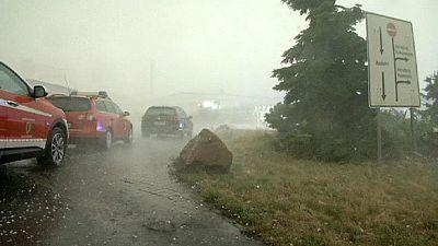 Allemagne : inondations et tempêtes de grêle en Saxe-Anhalt