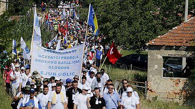 Une marche pour la paix, 20 ans après le massacre de Srebrenica