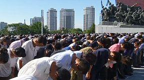 North Korea marks 21st anniversary of Kim Il Sung's death