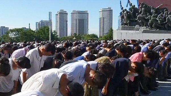 بزرگداشت سالگرد درگذشت کیم ایل سونگ در کره شمالی