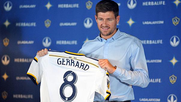 Gerrard officially presented at LA Galaxy