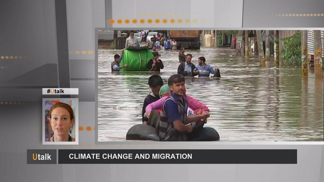 As mudanças climáticas e a migração: um tema quente para a Europa