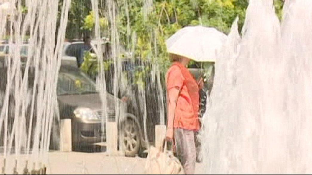Roménia atingida por vaga de calor