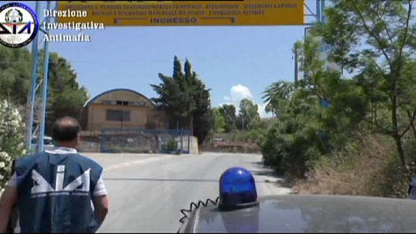 Másfélmilliárd eurós maffia-ingóság lakat alatt Szicíliában