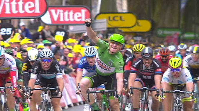 Tour de France: Greipel sprints to second stage victory this edition