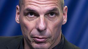 """""""V"""" for victory, """"V"""" for Varoufakis"""