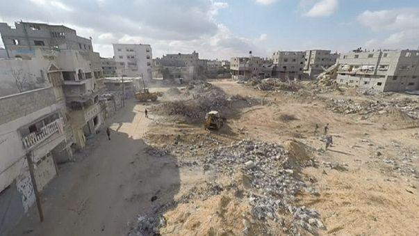 Сектор Газа в руинах через год после военной операции