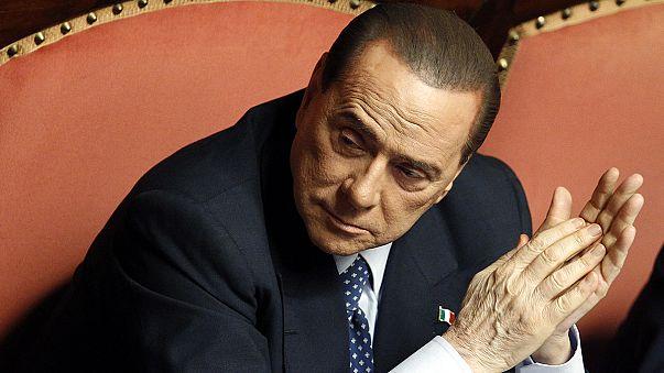 Berlusconi condenado a tres años por soborno, pena que no cumplirá