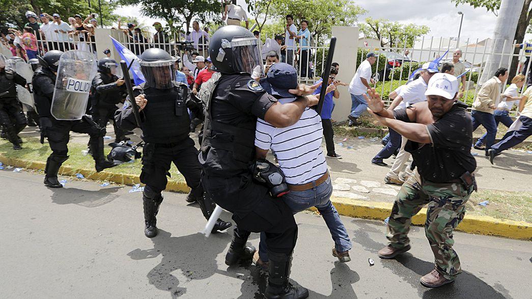 Nicaragua: Ausschreitungen bei Protesten von Regierungsgegnern