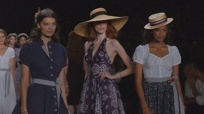 Lena Hosheck innovative handicraft at the Berlin Fashion Week