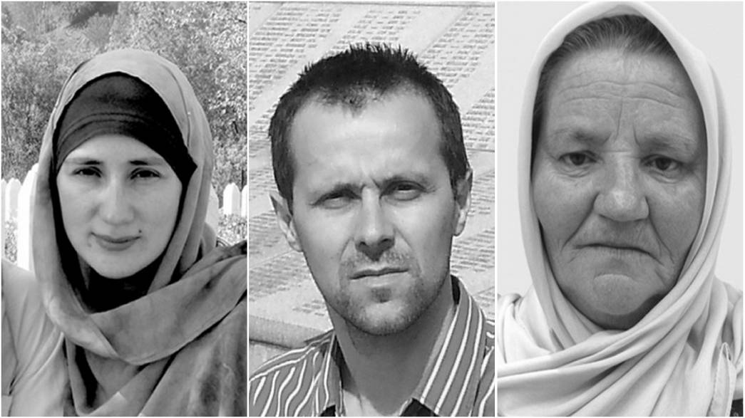 Three survivors of the Srebrenica massacres tell their stories