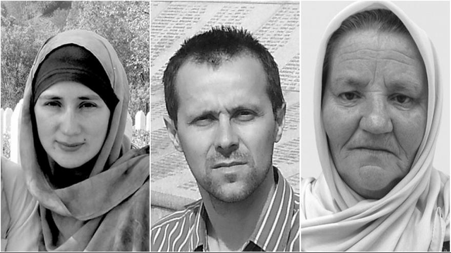 Three survivors of the Srebrenica massacres tell their stories