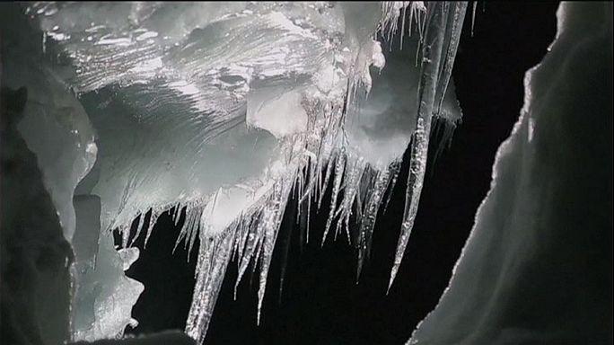 Au cœur du glacier Langjökull