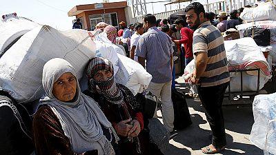 Syrische Flüchtlingskrise verschlimmert sich weiter: mehr als 4 Millionen sind auf der Flucht