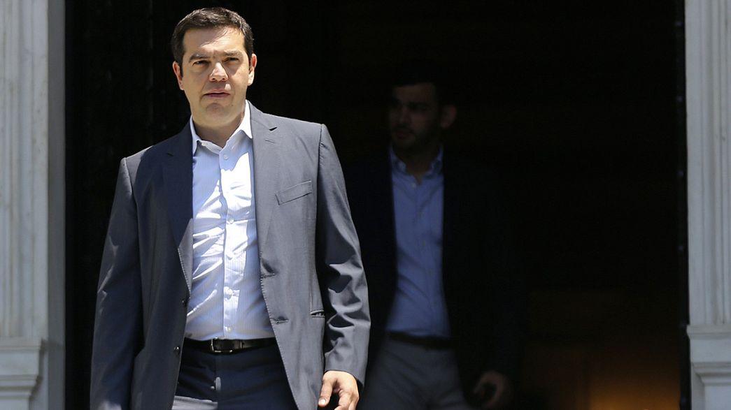 Grèce : la pression monte avant les nouvelles propositions de réformes
