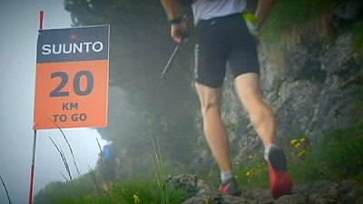 Caballero and Fischl win stage one of Four Trails