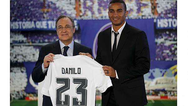 Danilo unveiled at Real Madrid