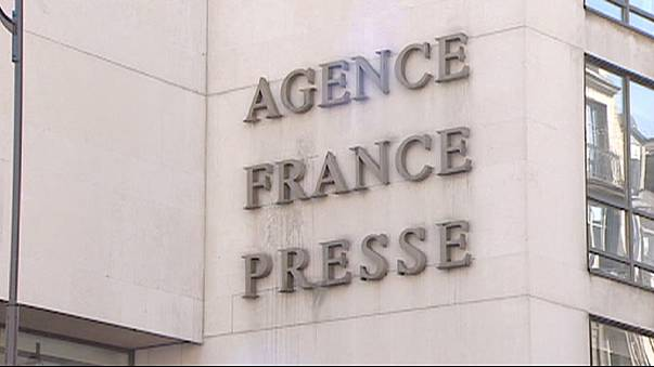 Strike by French news agency extended by 24 hours