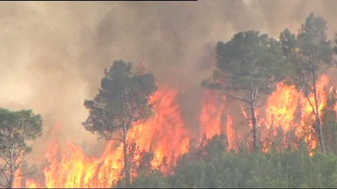 Spagna: a fuoco centinaia di ettari di vegetazione