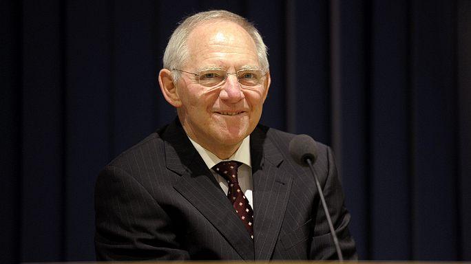 Eurozone's 'grumpy paymaster' Schäuble jokes about Greece crisis
