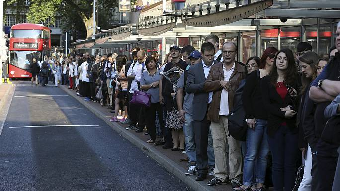أزمات خانقة بالعاصمة البريطانية لندن سببها اضراب مترو الانفاق