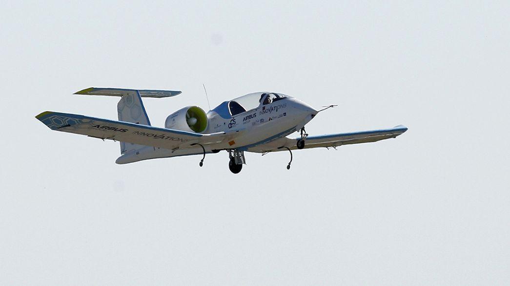 Avião elétrico atravessa o Canal da Mancha