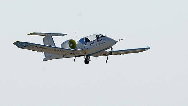 'Aviation history' made as electric plane flies across English Channel