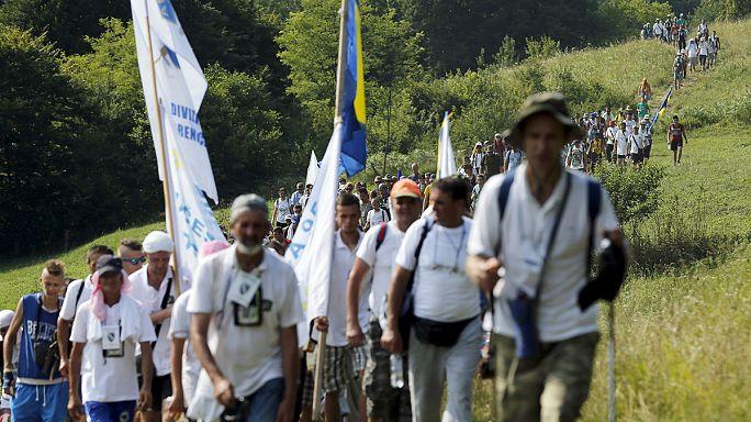 Марш памяти в Сребренице: встреча с прошлым