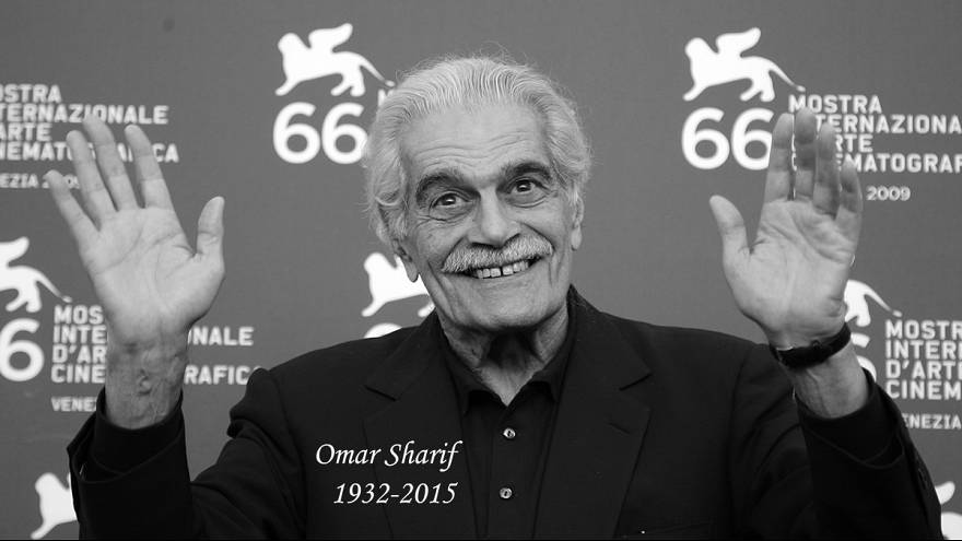 Omar Sharif, o último galã