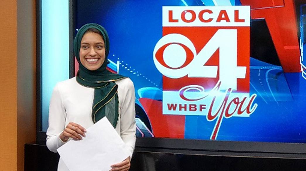 Tahera Rahman recently became the first TV reporter to wear a hijab on air.