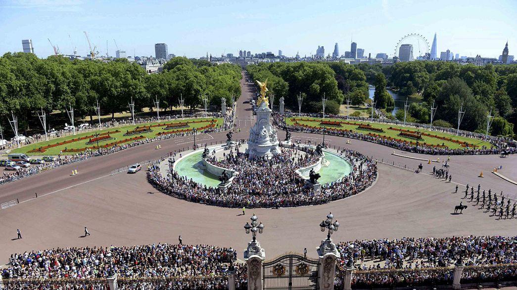 Família Real comemora 75 anos da Batalha de Inglaterra