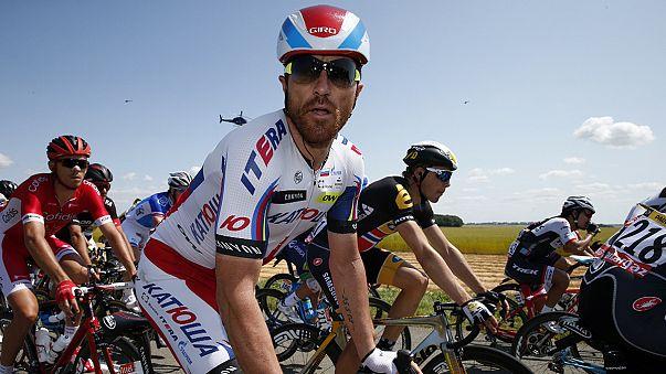 Italian cyclist Luca Paolini fails dope test in Tour de France