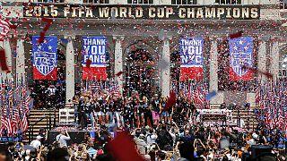 Nueva York homenajea a las campeonas del mundo de fútbol