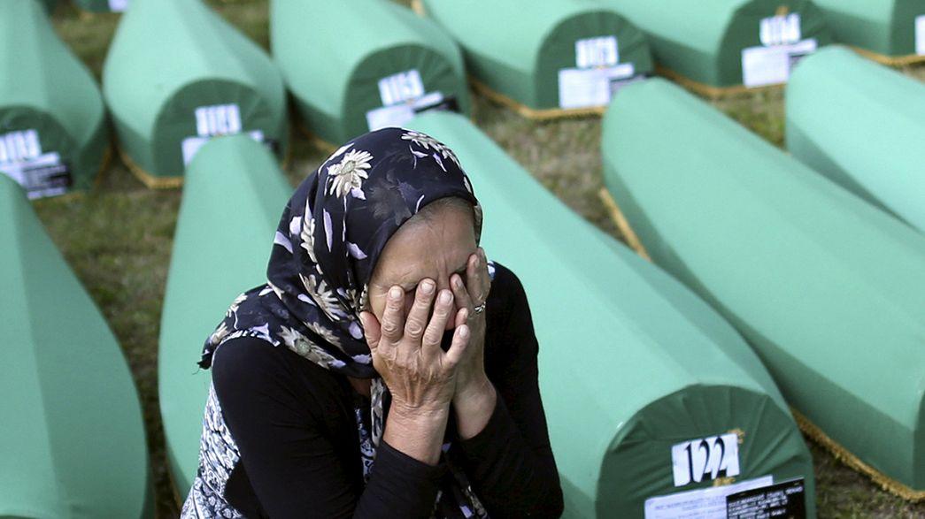 Zeremonien in Srebrenica: Gedenken an Völkermord
