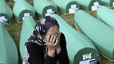 Homenaje a las víctimas de Srebrenica 20 años después