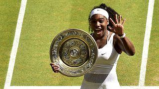 Wimbledon'da şampiyon Serena Williams