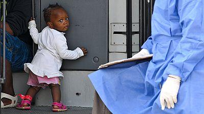Italia: 717 migranti sbarcati a Palermo, fermati 7 presunti scafisti