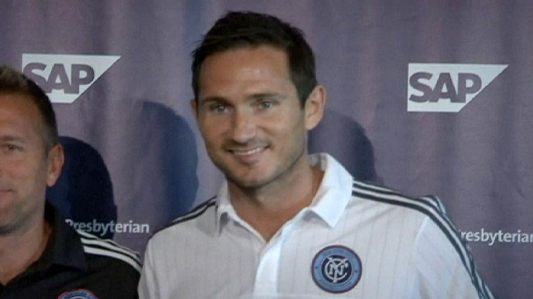 Calcio: Lampard salta la prima col New York City