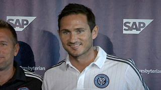 Frank Lampard yeni kulübünün formasını henüz giyemedi
