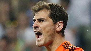Casillas Real Madrid'e veda etti