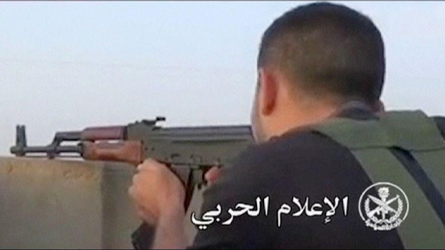 Сирийская армия ведет наступление на Пальмиру