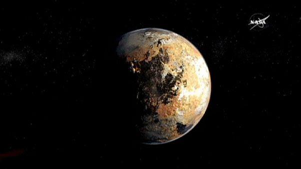 """المسبار الفضائي الامريكي """" الآفاق الجديدة"""" يقترب من كوكب بلوتن بعد 9 سنوات من إطلاقه"""